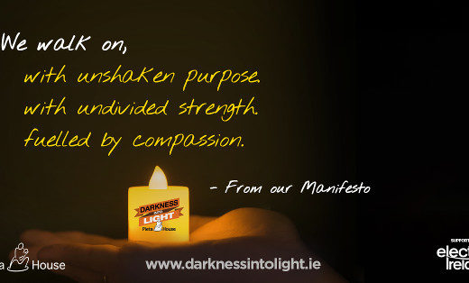 Supporting Darkness Into Light and Pieta House
