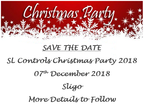 Save The Date Xmas 2018 Sl Controls