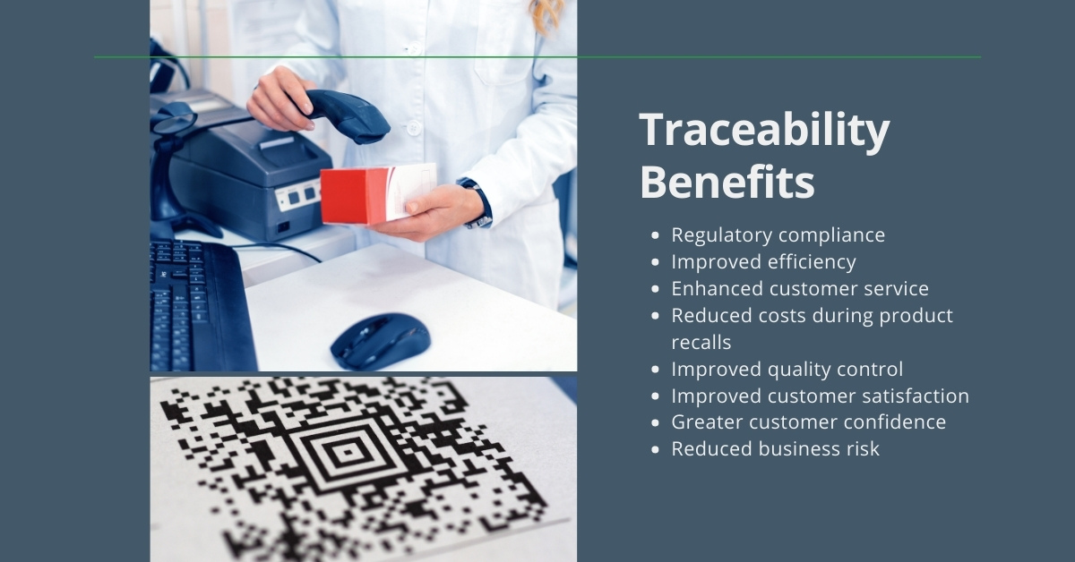 Traceability benefits in pharmaceutical and medical device manufacturing