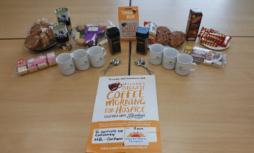 Taking Part in Irelands Biggest Coffee Morning
