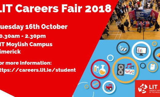 Engineering Students in Limerick and Sligo – Come See Us this Week at a Careers Fair Near You