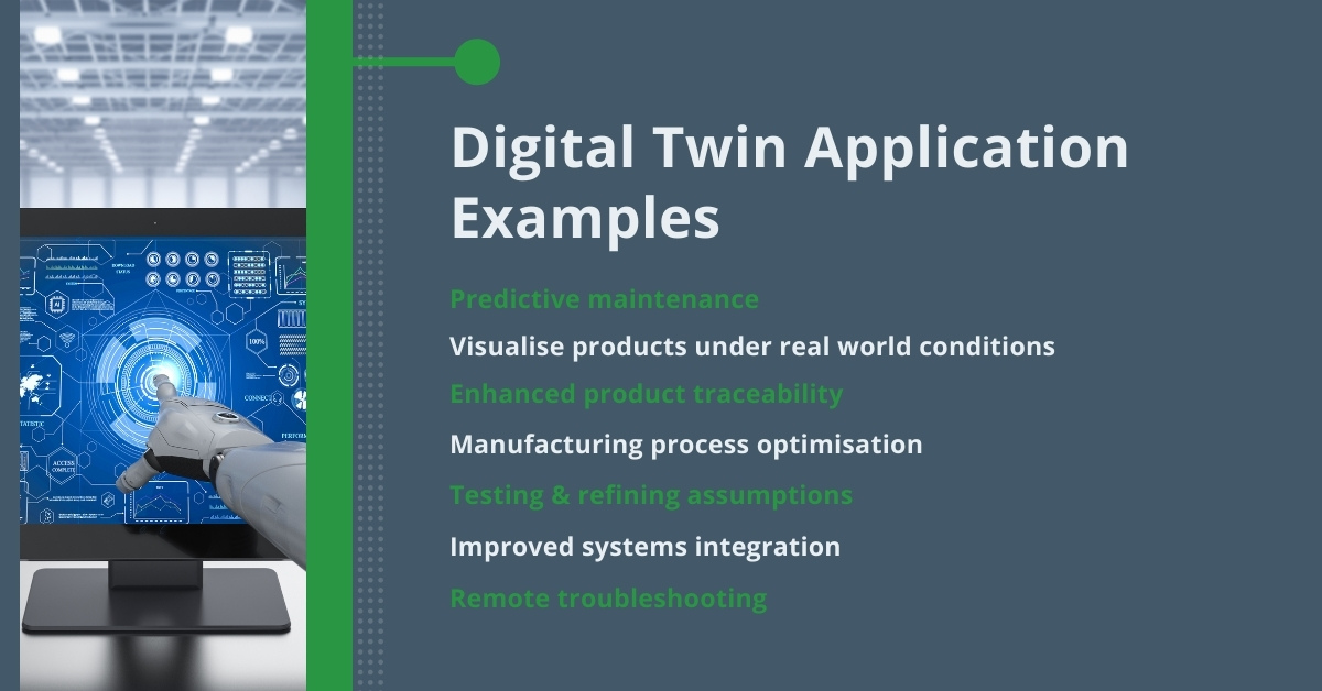 Digital Twin Application Examples