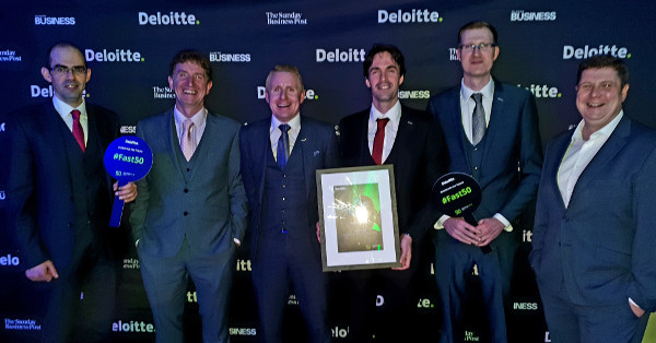SL Controls Named One of Irelands Fastest Growing Tech Companies at Deloitte Fast 50 Awards