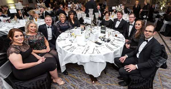 The SL Controls table at the Sligo Chamber of Commerce Presidents Ball