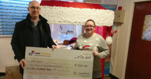 SL Controls Presents Share the Love Donation to CMRF Crumlin