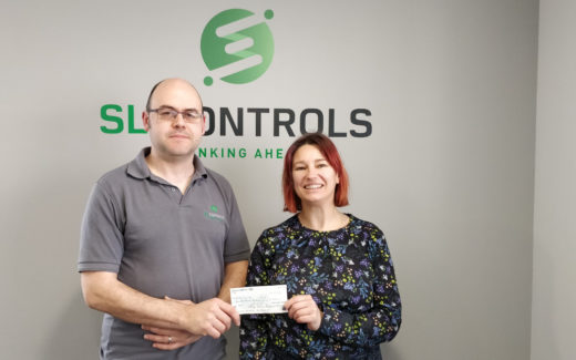 SL Controls Limerick Office Donates 500 to Local Theatre Group for Important Initiative