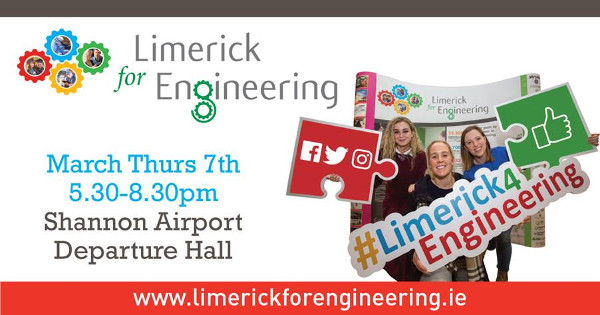 Limerick for Engineering 2019 poster