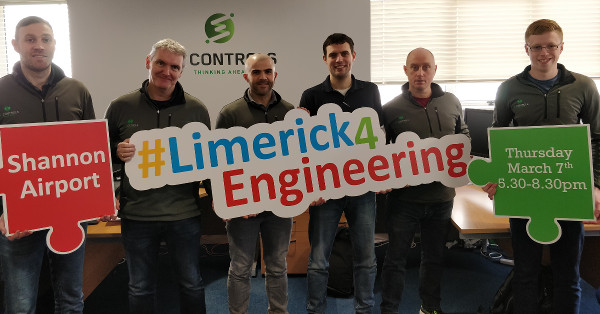 SL Controls team supporting Limerick for Engineering