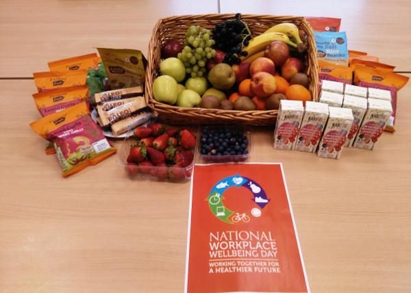 SL Controls Workplace wellbeing day Sligo healthy food hamper