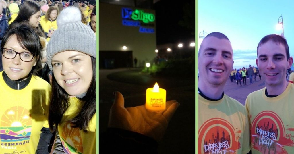 SL Controls Staff Take Part in Darkness Into Light