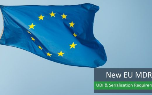 The UDI and Serialisation Requirements of the New EU MDR