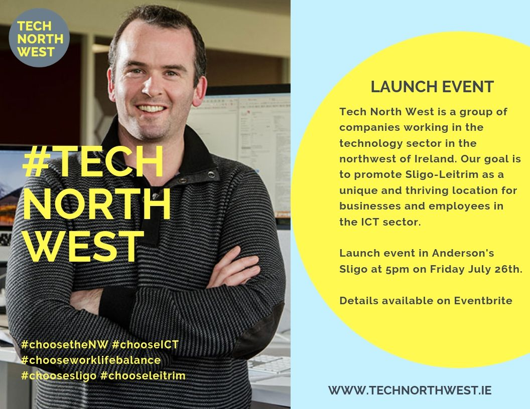 Tech North West Launch Event Poster
