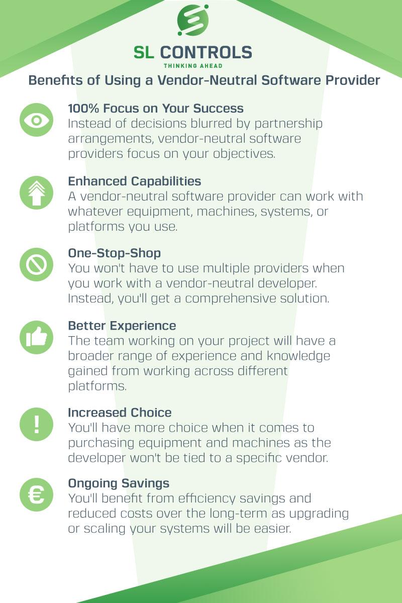 Infographic – Benefits of Using a Vendor-Neutral - SL Controls