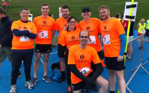 SL Controls Competes in the Limerick Company Marathon Challenge 2019