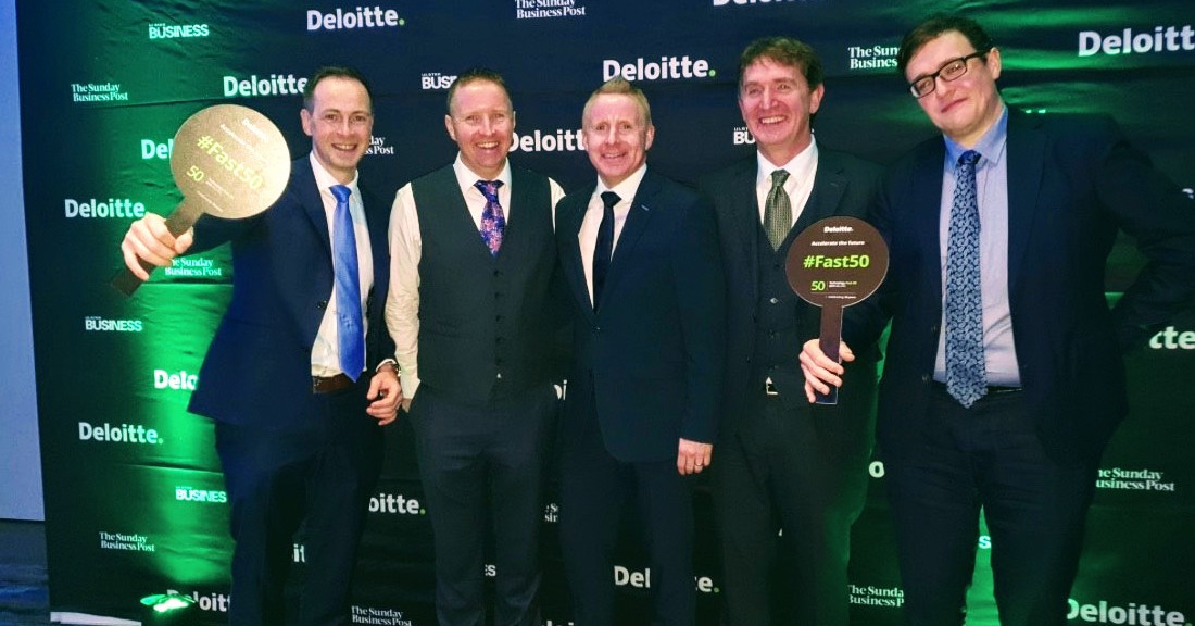 SL Controls Named as the 42nd Fastest Growing Technology Company in Ireland in 2019