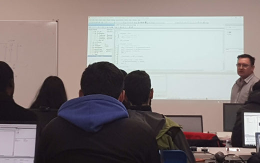 SL Controls-Backed E-Cubers Runs B&R Boot Camp with Mechatronics Students in UL