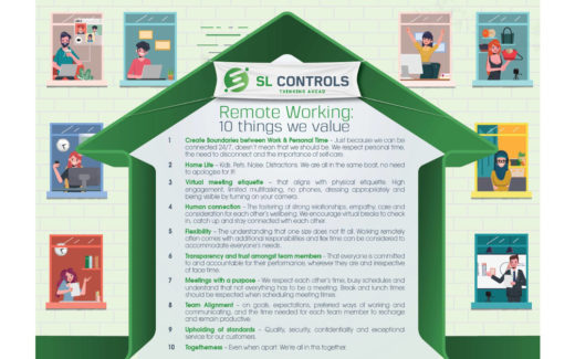 Remote Working 10 Things We Value at SL Controls