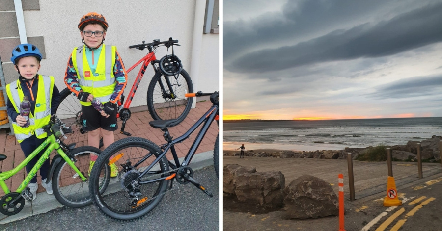 Keith Moran lockdown cycling