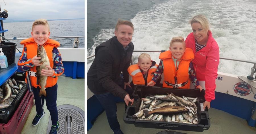Keith Moran lockdown fishing