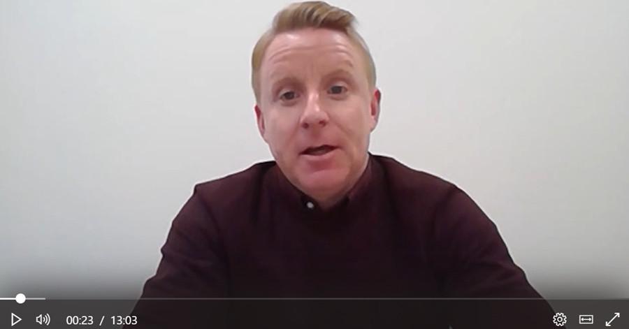 Lockdown video update by Keith Moran at SL Controls