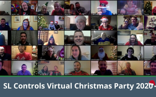SL Controls Christmas Party Goes Virtual for 2020
