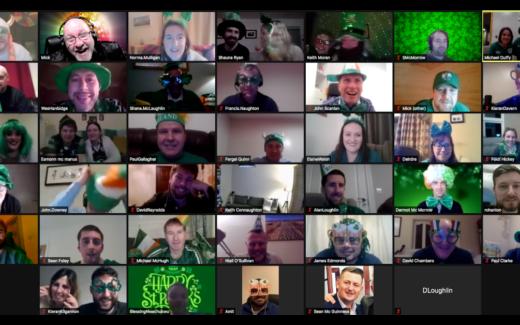 Celebrating Wins Together on St Patricks Day – Virtually