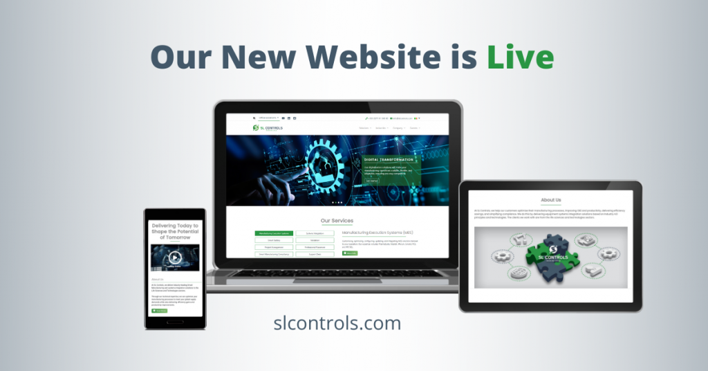 Our New Website is Live - SL Controls