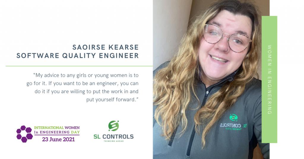 Women in Engineering – Saoirse Kearse, Software Quality Engineer