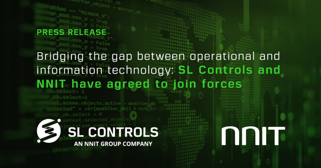 Irish software integration company SL Controls acquired by global IT group NNIT