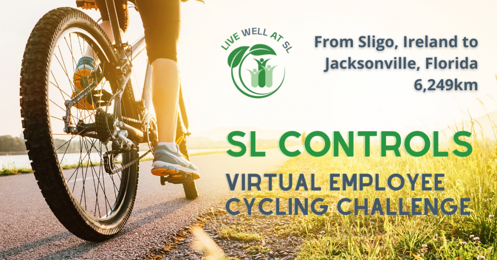 SL Controls Employees Take Part in Virtual Cycling Challenge