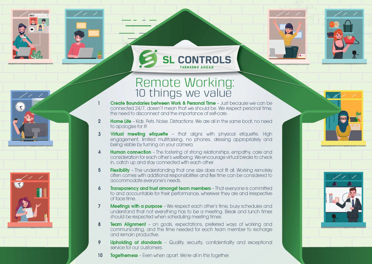 SL Controls Remote Working Values